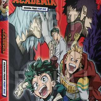 My Hero Academia: Season Four - Part One Blu-ray + DVD + Digital