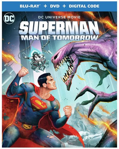 Superman: Man of Tomorrow (Blu-ray + DVD + Digital Combo Pack)